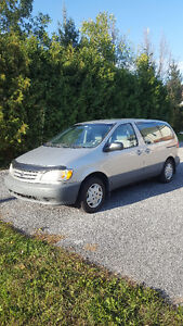 2002 Toyota Sienna Familiale tout options