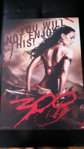 300 The Movie Poster Mounted