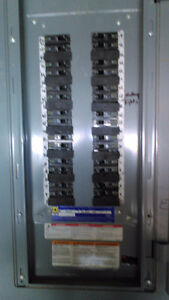 400 amp pannel with breakers