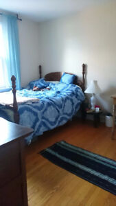 Female only bedroom in duplex close to downtown/bus to universit