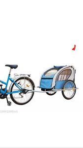 Chariot/ remorque à vélo pour enfants