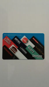 GIFT CARD - $ 182.00 ULTIMATE DINING Gift Card from Cara Foods