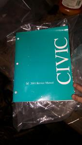 2001 civic service manual