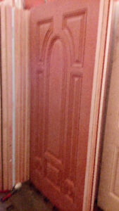 top of the line fiber glass doors for sale $150 each