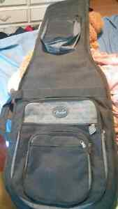Fender deluxe gig bag. Mint condition.