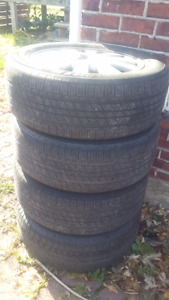215/55r16 summer tires on Mags