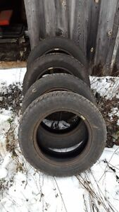 """For Sale - Winter tires - 15"""" - GOODYEAR NORDIC (215/60R15)"""