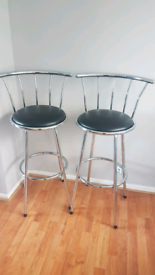 Brand new pair of bar chairs