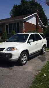 2004 Acura MDX Mdx touring 4x4; 7 seats SUV, Crossover