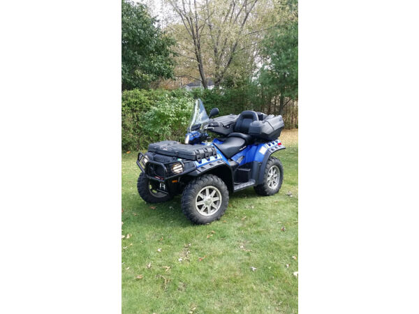 Used 2012 Polaris Sportsman 850 HO EFI 4x4 PW Steering Touring 2up A