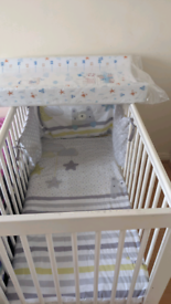 Baby bed and New removable changing table