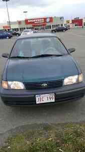 1999 Toyota Tercel only 165 000 km need it gone 800 obo