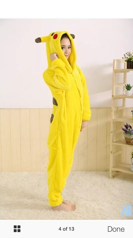 Pikachu costume size medium