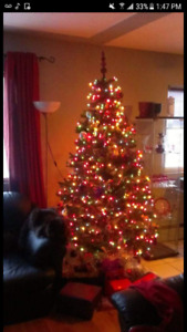 7 ft Artificial Montrose Christmas Tree