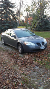 MUST SELL, REDUCED - 2008 Pontiac G6 Sedan