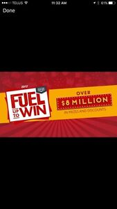 Coop fuel up to win stickers