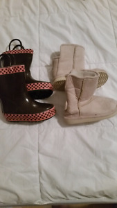Toddler girls size 5 boots