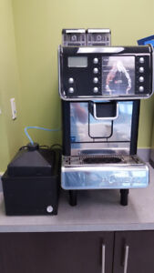 Fully Functional LA CIMBALI Q10 Espresso Machine and Milk Cooler