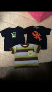 Gymboree sz 12-18 months tops and shorts