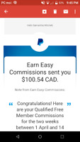 Earn easy commissions referral program