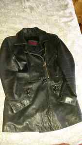 Beautiful ladies soft real leather jacket