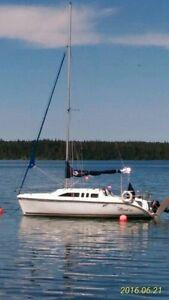HUNTER 260  Water Ballast Sailboat