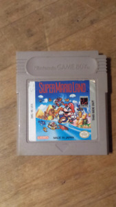 Super Mario Land and Tetris for GBA/Game Boy