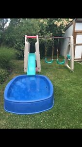 Perfect swing, slide and (optionally) splash combo