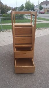 Crate Design Upper Bunk Single Bed and Staircase Kitchener / Waterloo Kitchener Area image 3