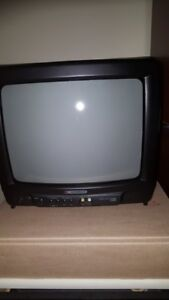 13 inch colour CRT TV with closed caption decoder