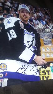 Brad Richards autographed hockey photo