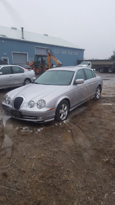 2002 jaguar s-type complete part out **PARTS**