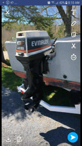 45 commercial evinrude