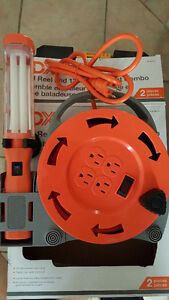 Brand New 20Feet Cord Reel and 13W Utility Light