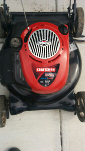 Craftsman Gas lawn mower with Briggs and Stratton 190cc engine.