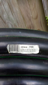 NEW IPEX 100 PSI CSA PIPE WITH THE GREEN STRIP