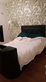 Double TV bed