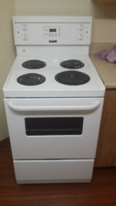 Electric Apartment Size Stove