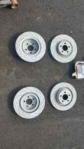 Exterme stop rotors front and rear with pads