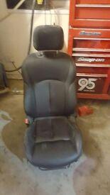 Nissan Juke leather seats