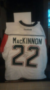 Nathan MacKinnon Signed Jersey