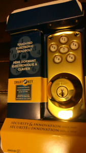Touchpad Electronic Deadbolt