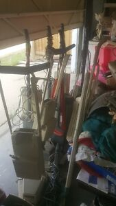 Various used vacuums and parts, new parts as well. Electrolux an