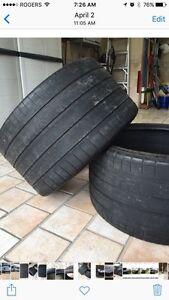 2 pneu/Tires Michelin pss 325/25/20