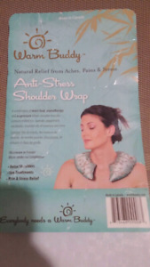 WARM BUDDY Antistress. Antipain Shoulder Wrap. Brand New Packed.