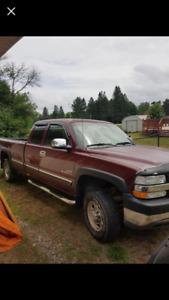 2002 Chevrolet Silverado 2500 hd diesel