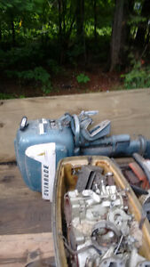 Vintage 7.5 HP and 10 HP Johnson and Evinrude outboards