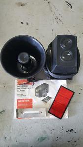 Infrared photo relay alarm