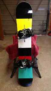 Burton custom 158 and bindings
