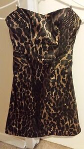 Strapless Leopard GUESS Dress for Sale!!! London Ontario image 1